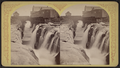 Glen's Falls. The gulf from (below), by Stoddard, Seneca Ray, 1844-1917 , 1844-1917.png