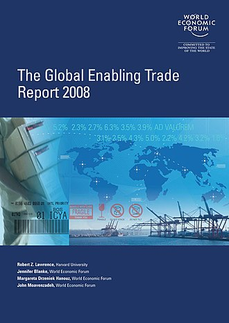 Global Enabling Trade Report - Image: Global Enabling Trade Report 2008 cover