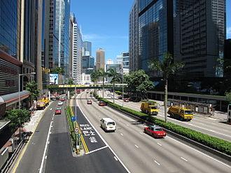 Gloucester Road, Hong Kong - Gloucester Road in Wan Chai