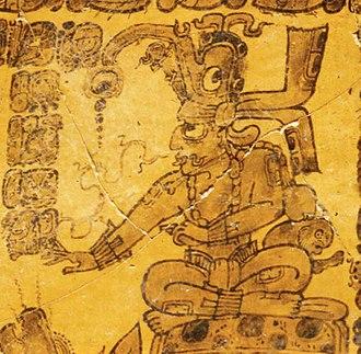 Kinich Ahau - Kinich Ahau as a ruler, Classic period