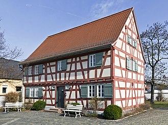 Riedstadt - Riedstadt-Goddelau, Birth place of Georg Büchner
