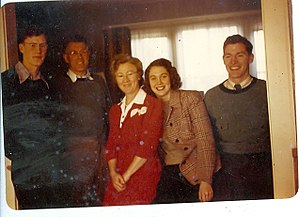 Richard Godwin - Image: Godwin Family Bert, Paul S. Lee, Dick Mason D. Last Photo bfr. Bert went to war 0085