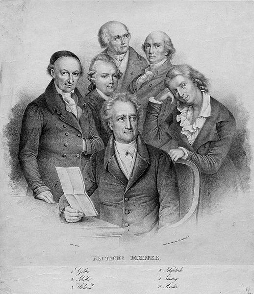 File:Goethe Schiller Wieland Klopstock Lessing Herder.jpg