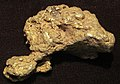 Gold nugget (placer gold) (Bulger Basin Placer Deposit, Pennsylvania Mountain, Alma Mining District, Park County, Colorado, USA) 1 (17042810066).jpg