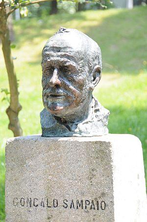 Gonçalo Sampaio - Bust of the Gonçalo Sampaio, in Parque da Ponte, Braga.