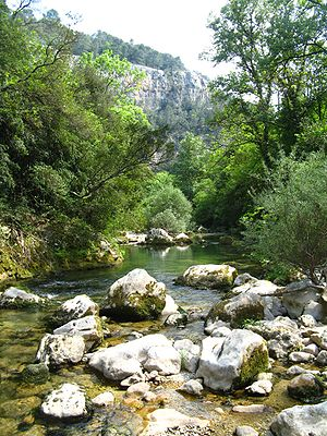 Siagne - Gorges of the Siagne