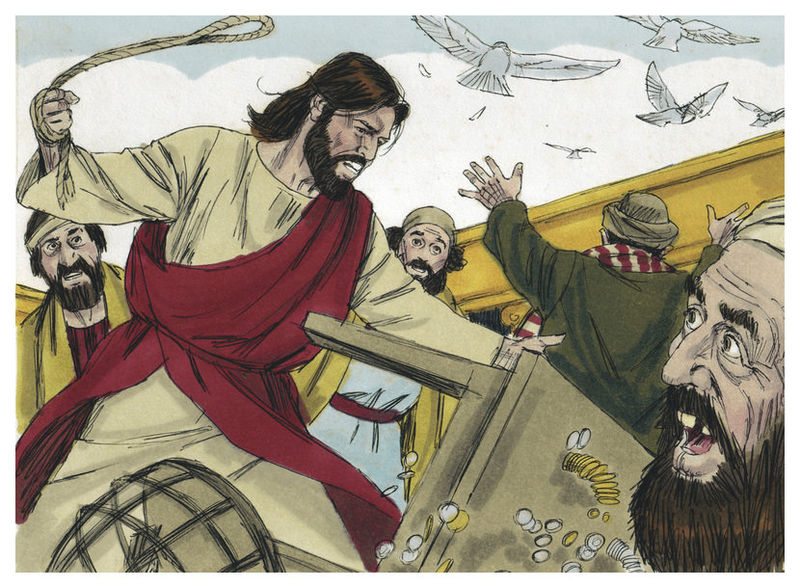File:Gospel Of Luke Chapter 19-13 (Bible Illustrations By