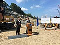 Gov. Malloy- I-84 Widening Project in Waterbury Remains Ahead of Schedule (28958279170).jpg
