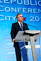 Governor of Florida Jeb Bush at Southern Republican Leadership Conference, Oklahoma City, OK OK May 2015 by Michael Vadon 10.jpg