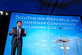 Governor of Louisiana Bobby Jindal at Southern Republican Leadership Conference, Oklahoma City, OK May 2015 by Michael Vadon 130.jpg