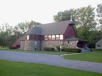 Grace Church (Scottsville, New York) - Image: Grace Church 2012 09 20 17 56 43
