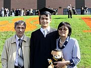 Graduation Day of a Bolashak Scholar from Kazakhstan