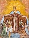 Grafenstein Saager Filialkirche hl Anna Fresko Schutzmantelmadonna 12052015 3592.jpg