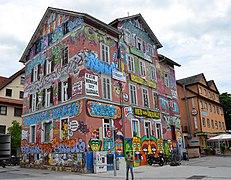 Graffiti art, Epplehaus Tübingen (2018)