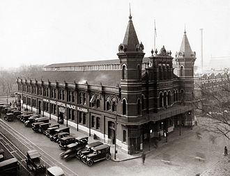 Federal Triangle - Center Market in the 1920s.