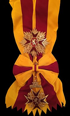 Grand Cross, Royal Order of the Lion of Godenu.jpg