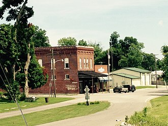 Grand Tower, Illinois - Front Street