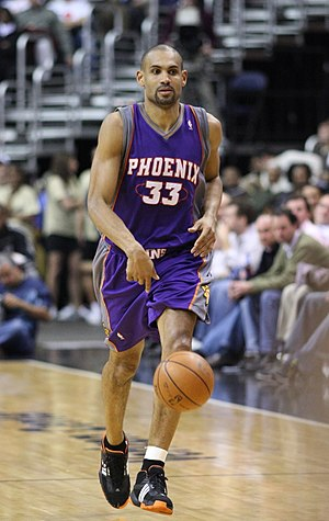 1994 NBA draft - Grant Hill, the 3rd pick of the Detroit Pistons
