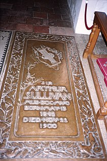 Grave of Arthur Sullivan-3677697950.jpg