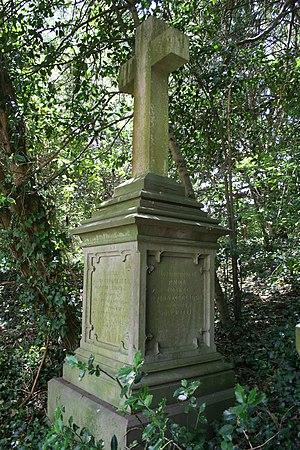 John Forrest (doctor) - Gravestone of John Forrest, Locksbrook Cemetery, Bath