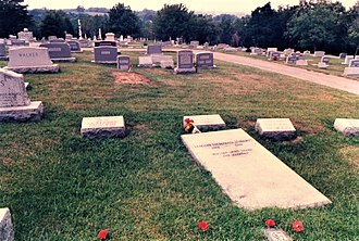 Elizabeth Madox Roberts - Grave of Elizabeth Madox Roberts in Springfield, Kentucky