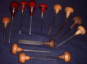 Engraving - An assortment of hand engraving tools