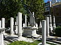 Graveyard around the Mausoleum of Sultan Mahmud II - P1030847.JPG