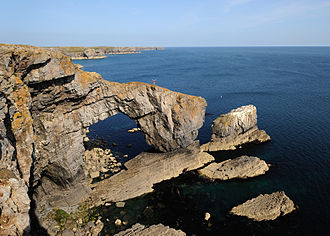 Pembrokeshire Coast National Park - The Green Bridge of Wales