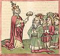Gregor V. krönt Otto III..jpg
