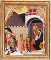 Gregorio di Cecco. Adorazioni dei magi, ca.1420, Svizzera, Coll. privata.jpg