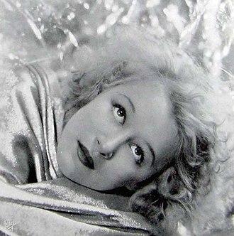 Greta Nissen - Nissen in 1931