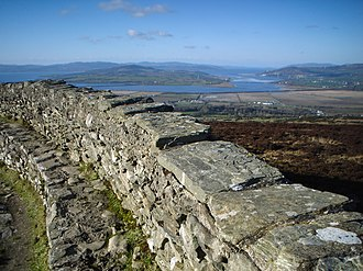 Grianan of Aileach - View from Grianan of Aileach