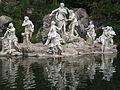 Gruppo sculture Parco Palazzo Reale di Caserta.JPG