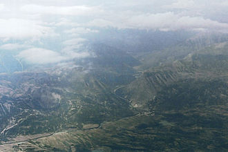 Capture of Klisura Pass - Aerial view of the battlefield