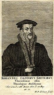Johann Jakob Grynaeus Swiss divine