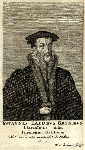Johann Jakob Grynaeus - Johann Jakob Grynaeus.