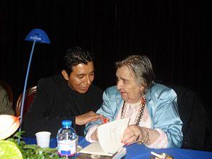 Italiano: Guaman Allende e Alda Merini