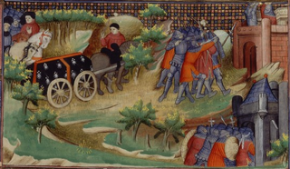 War of the Breton Succession Conflict between the Counts of Blois and the Montforts of Brittany