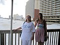 Gulf Shores Vacation July 2007 - Hollie and Beth by the Beach.jpg