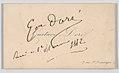 Gustave Doré, calling card MET DP863652.jpg