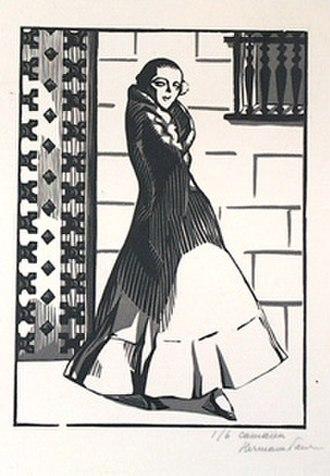 Hermann-Paul - Femme Espagnole (1920)