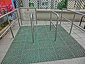 HK 上環 Sheung Wan 般咸道休憩花園 Bonham Road Rest Garden Fitness walking tiles flooring Feb-2014.JPG
