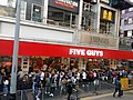 HK 灣仔 Wan Chai 莊士頓道 Johnston Road shop USA Five Guys fast food Restaurant December 2018 LGM 02.jpg
