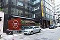 HK SW 上環新街 No 5-13 Sheung Wan New Street Universal Building sidewalk shop 共用工作空間 Naked Hub coworking April 2018 IX2 01.jpg