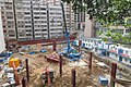 HK Shek Tong Tsui 加倫臺 Clarence Terrace view 石塘咀 翰林軒 Novum West Queen's Road West construction site May 2017 09.jpg