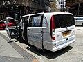 HK Sheung Wan Wing Lok Street Vito Mercedes-Benz motorvan July-2012 The V Hotel Hong Kong.jpg