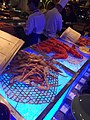 HK TST East 九龍香格里拉酒店 Kln Shangri-La Hotel buffet food iced cooked seafood lobsters n Crabs May 2016.jpg