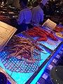 HK TST East 九龍香格里拉酒店 Kln Shangri-La Hotel buffet food iced cooked seafood lobsters n Crabs May 2016.jpg