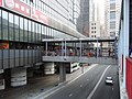 HK Tsuen Wan Sai Lau Kok Road 南豐中心 Nan Fung Centre footbridge Dec-2012.JPG