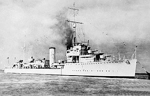 HMAS Stuart in 1938